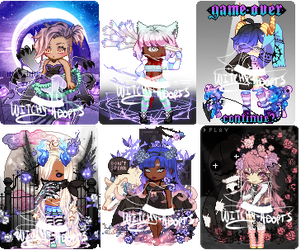 Gaia Adopts! [OTA] Spooks (3/6 OPEN) by Witchy-Adopts