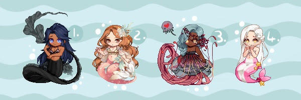 Gaia Adopts [OTA] Mermaid Adopts