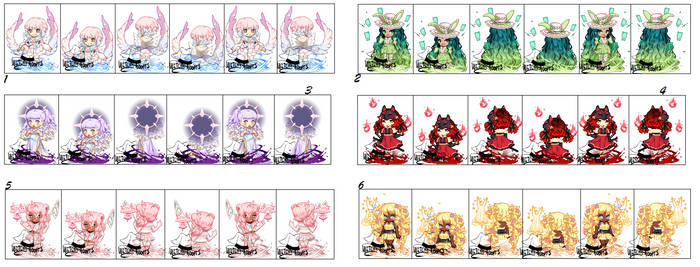Gaia Adopts [OTA] Magical Girl Adopts