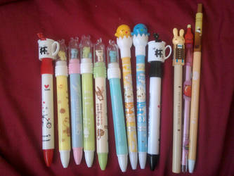 Kawaii Pen collection