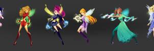 Almost Magical: Winx concept designs