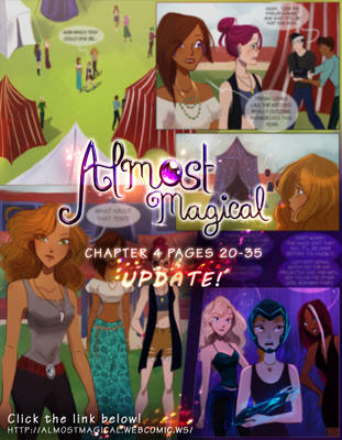NEW UPDATE! Almost Magical: Chapter 4 PAGE 20-35 by chocolatesmoothie