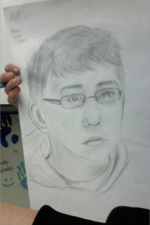 Realism Portrait Practice by Black-Shadowed-Wolf
