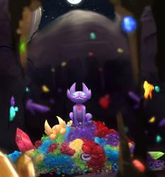 Throne for royalty by Kiridaike