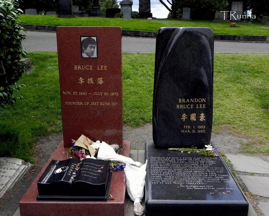 Image result for Bruce Lee and Brandon Lee