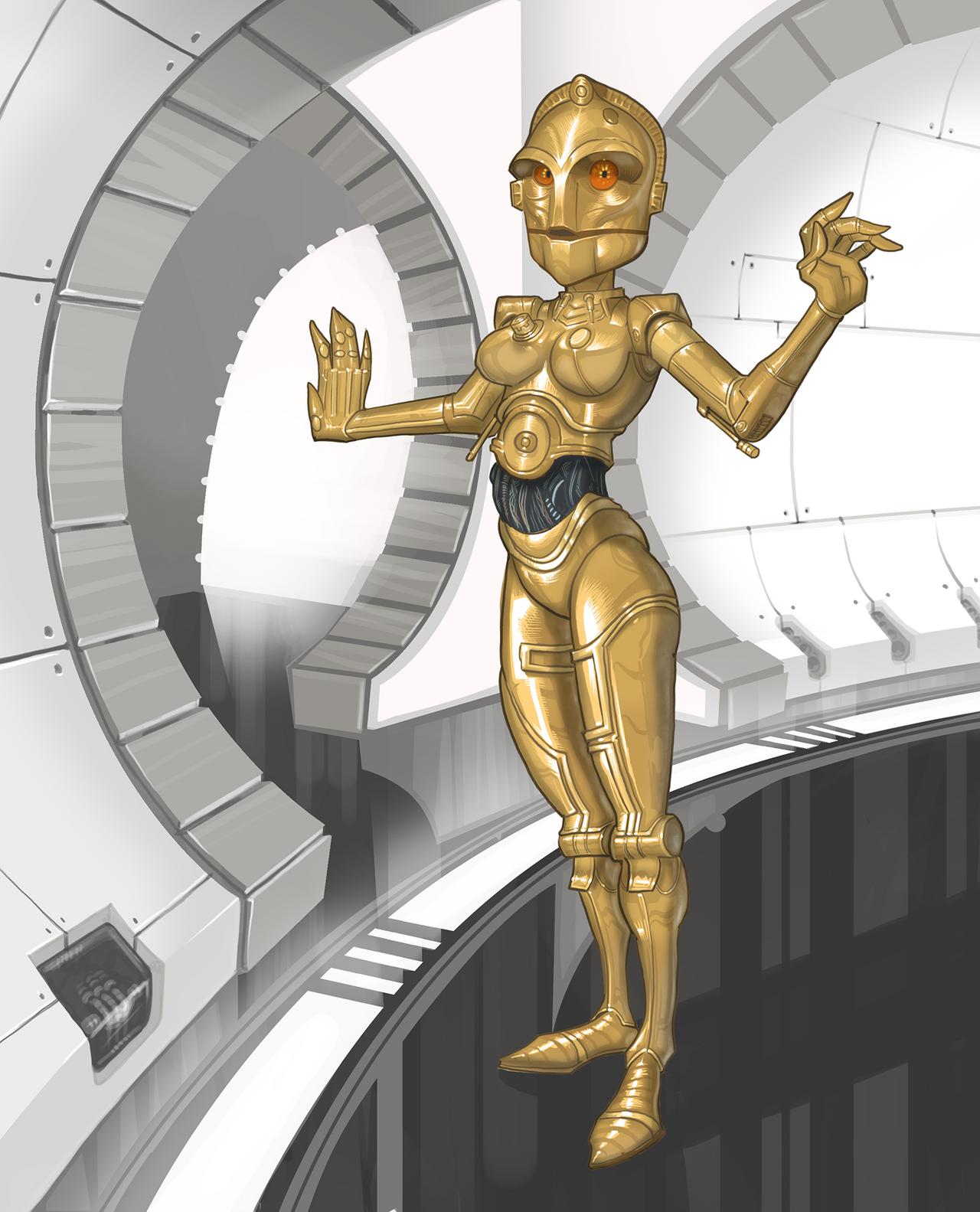 C3PO alternate female