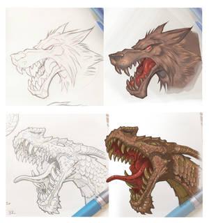 Monsterheads 1C