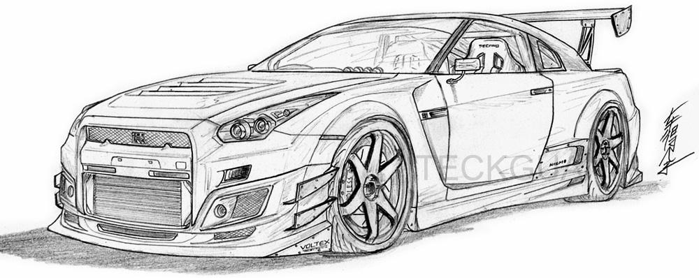 The New GTR Unlesh by sskylinee on DeviantArt