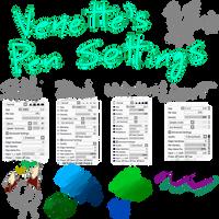Venette's pen settings by VenetteTheFurret