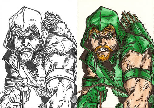 Green Arrow - Testing Markers