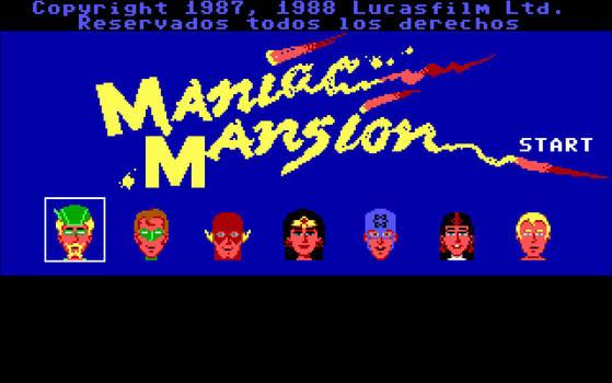 Justice League Maniac Mansion