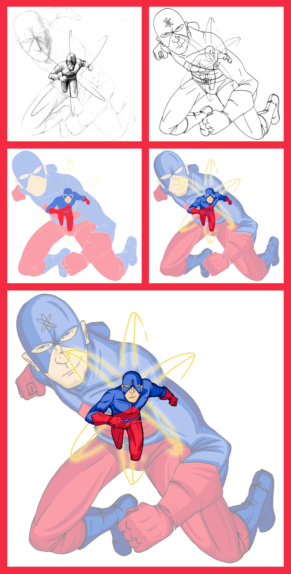 The Atom - Process by GreenArrow