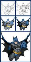 Batman - Process