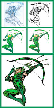 Green Arrow - Process