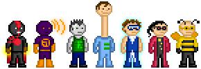 My Pixel Heroes by GreenArrow