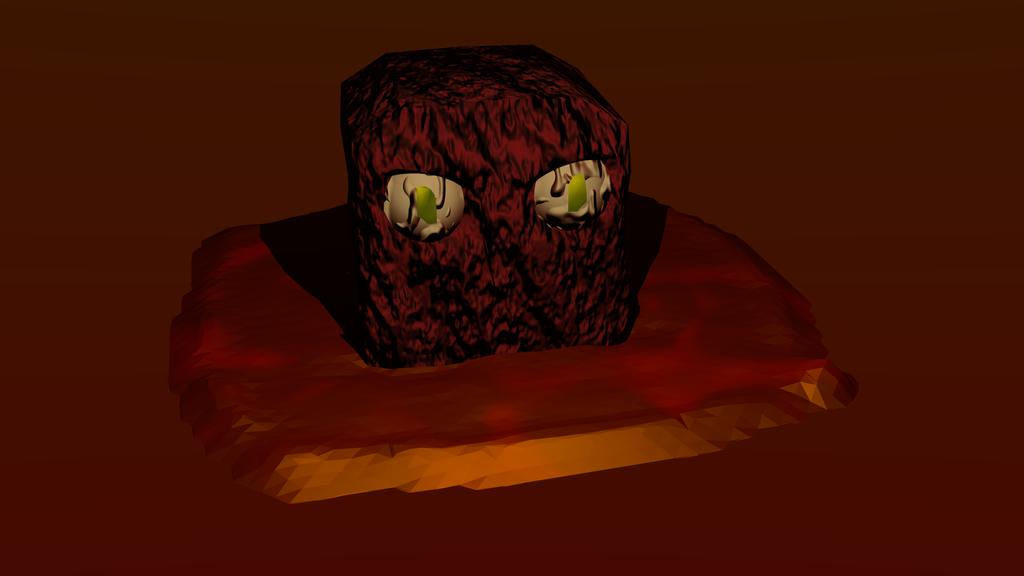 Real Life Magma Cube