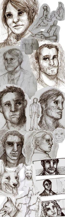 June Sketchdump
