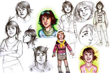 Character design developement