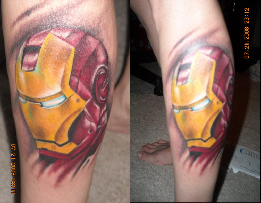 My Iron Man Tattoo By TI-655 On DeviantArt