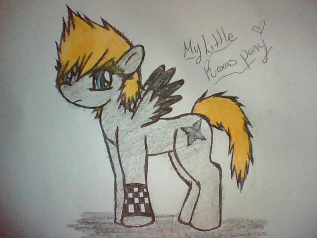 My Little Roxas Pony by Roxaswolf