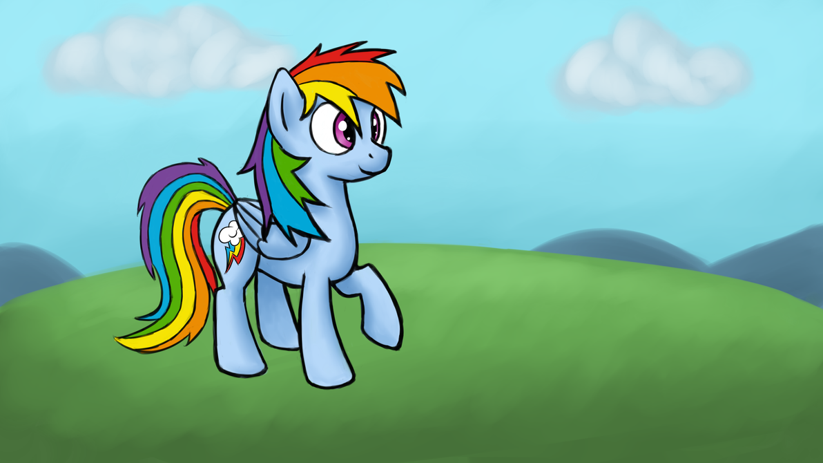 Windswept Mane by Bill-the-Pony