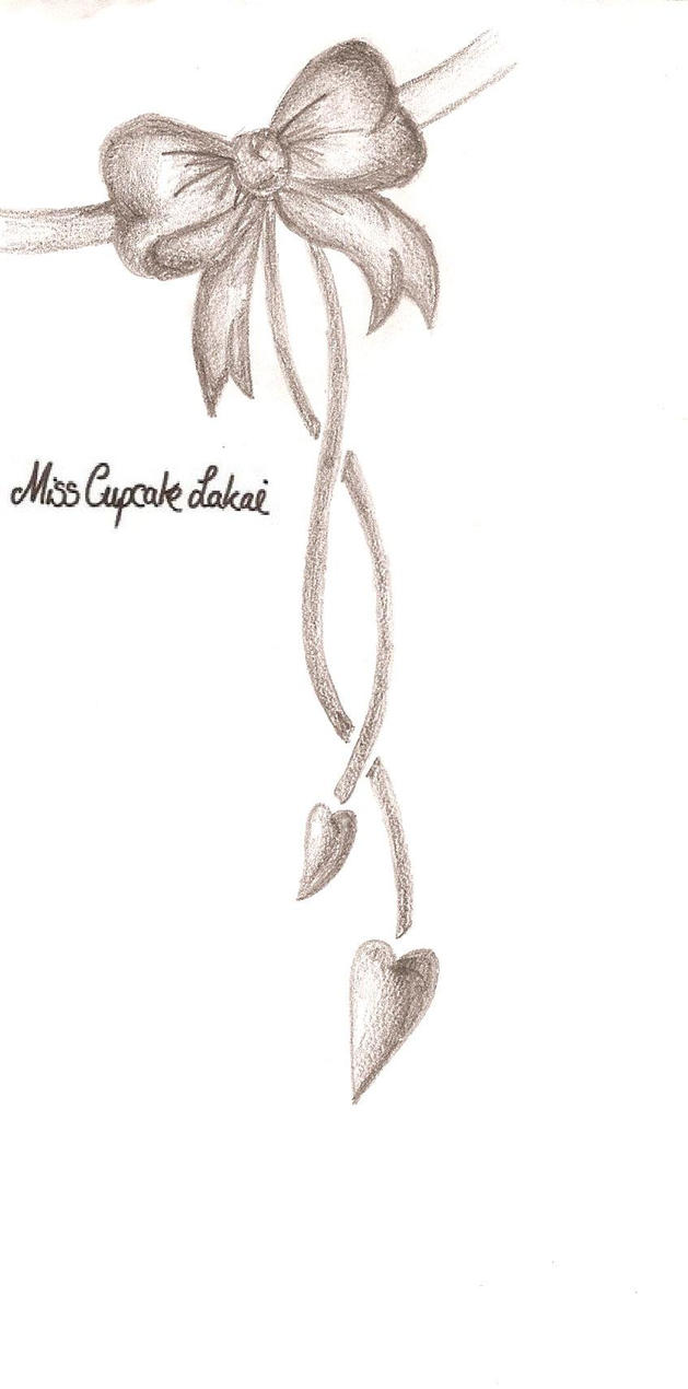 Steff Bow by Senty on DeviantArt  |Bow Tattoo Sketches