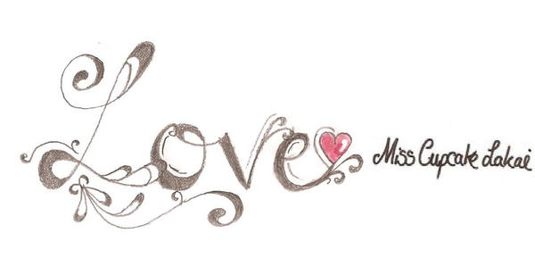 Love tattoo design by cupcake lakai on deviantart for The designlover