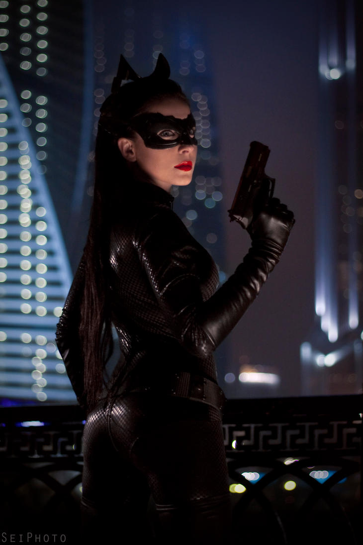 The Dark Knight Rises - Catwoman - 2 by NanaHikari