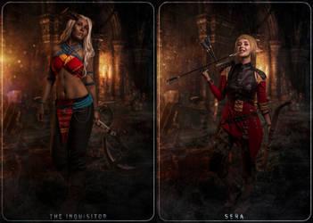 Inquisitor Adaar + Sera