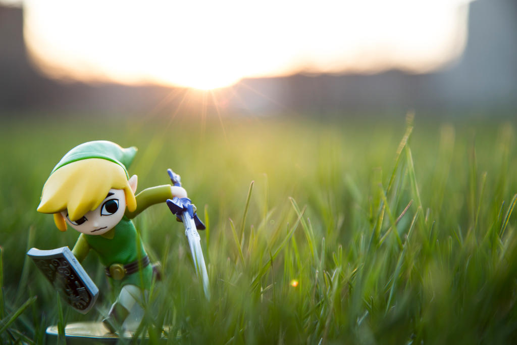 Toon Link Amiibo by Fire-Dash-89