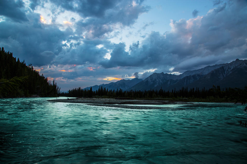 Bow River Sunset by Fire-Dash-89