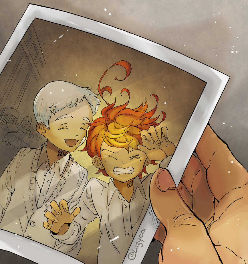 The Promised Neverland 32 Norman And Emma By Lazyeol On Deviantart