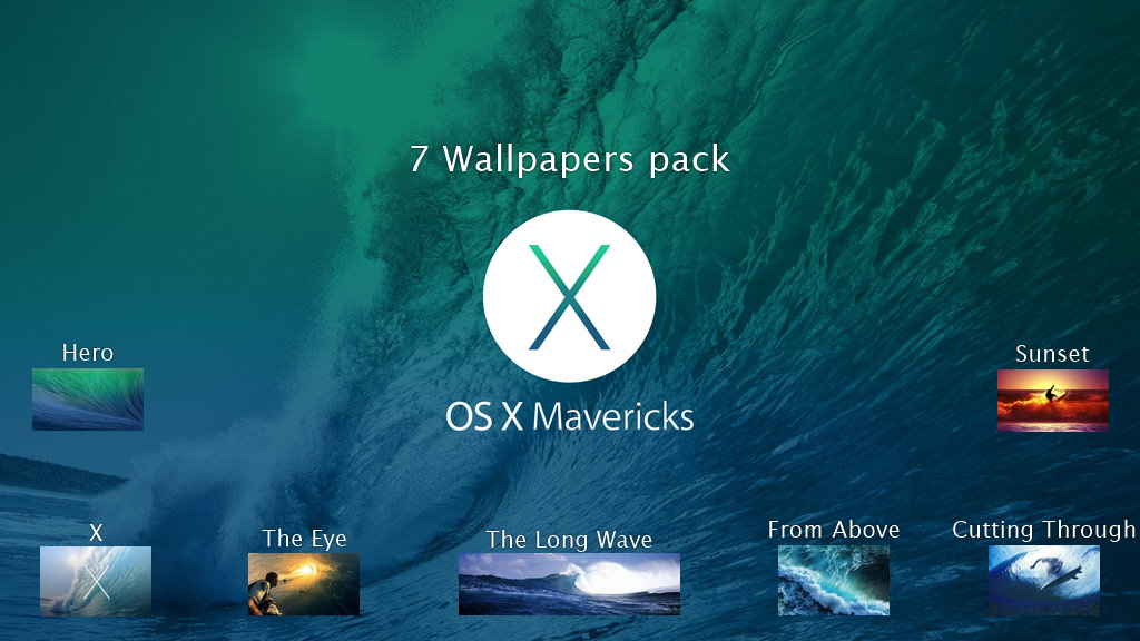 Mac Os X Mavericks Wallpapers Pack By Idshdeviantart On