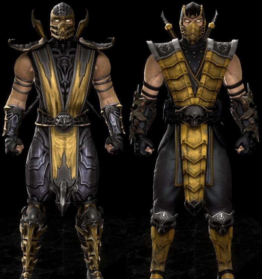 Scorpion MK 9 by lechiffre17 on DeviantArt