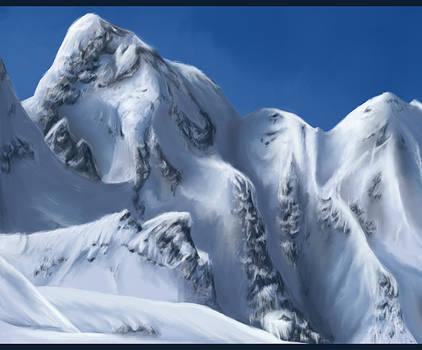 Speed Paint: Mountains