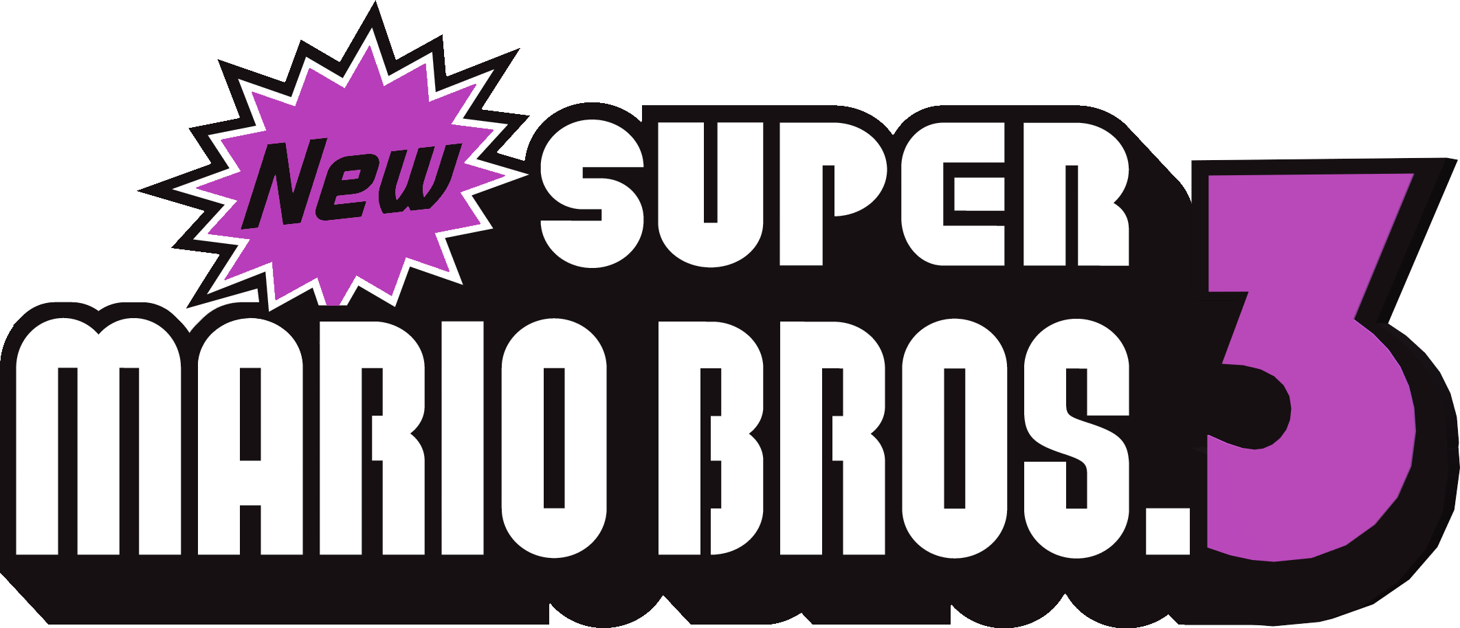 New Super Mario Bros 3 Phase 1 Logo By Mariobrosnet On Deviantart