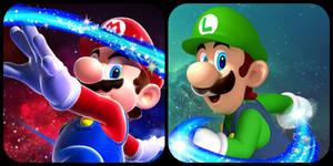 Super Mario Galaxy - Mario and Luigi