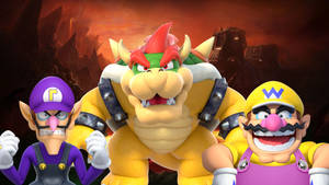 Bowser Standard Render - Bowser and the Wario Bros
