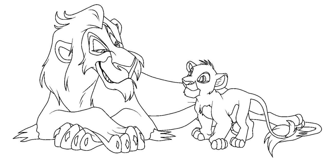 Scar face coloring pages for Scar coloring page