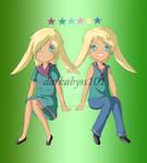 Twin bun buns for Izie--chan