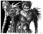 DeathNote: Ryuk and Rem