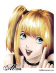 DeathNote: Misa Colored
