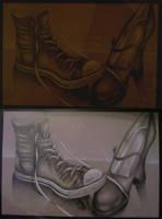 AP Studio 1 - The Shoes by Datura-Stramonium