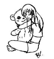 Cuddle bear by Datura-Stramonium