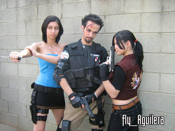 resident evil cosplay by flyaguilera