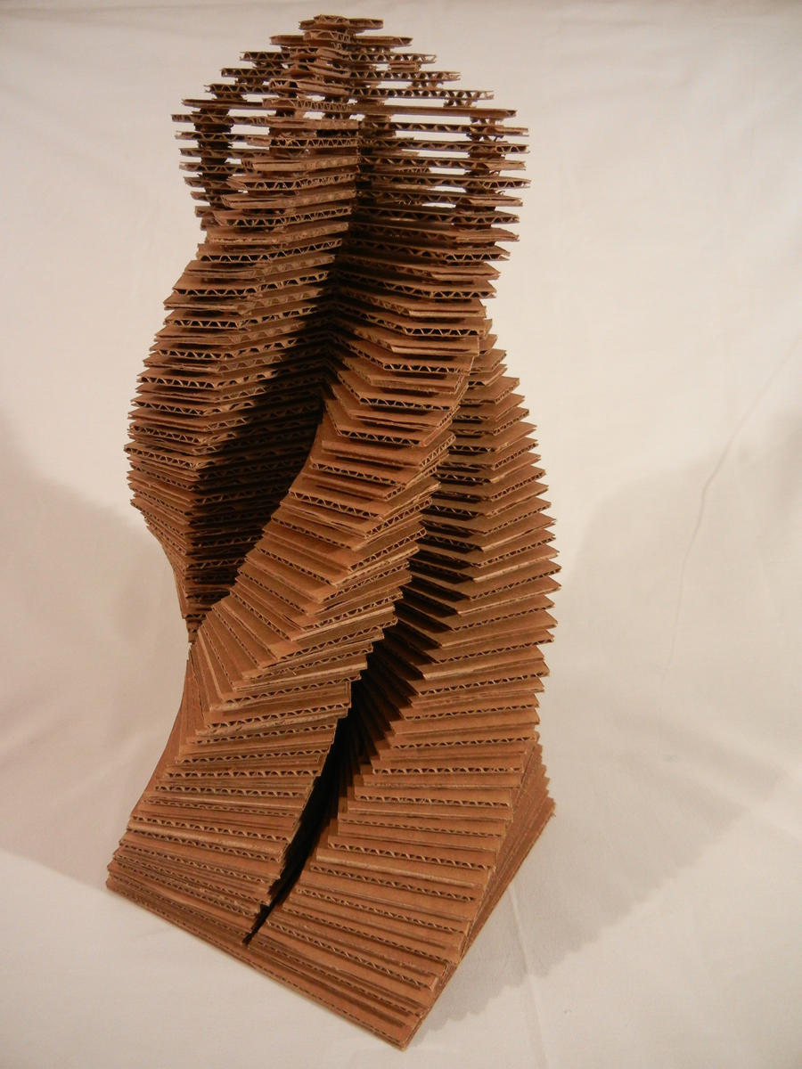 Cardboard Tower By R1nr1n On Deviantart