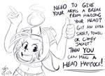 Before Sleep Sketch (Head Hammock)