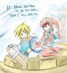 Mipha's Grace Zelda: BotW Fanart!