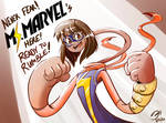 Ms. Marvel Ready to Rumble!