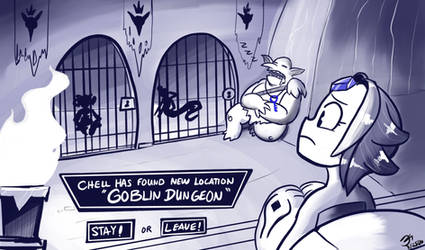 Monster Game #14 The Dungeon